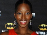 Jamelia attends the Batman Live gala performance at the O2 Arena
