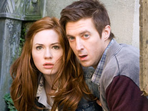 Rory and Amy in Doctor Who S06E08