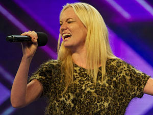 X Factor contestant Kitty Brucknell