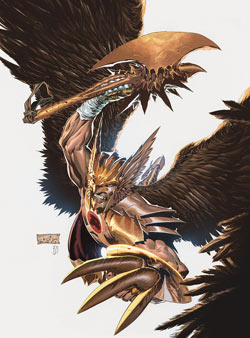 The New 52 - The Savage Hawkman