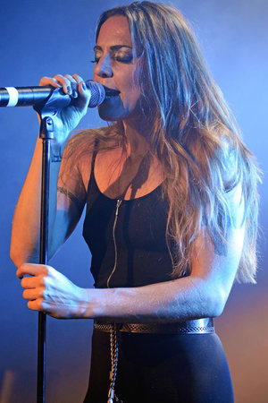 Mel C performs at G-A-Y night club, London