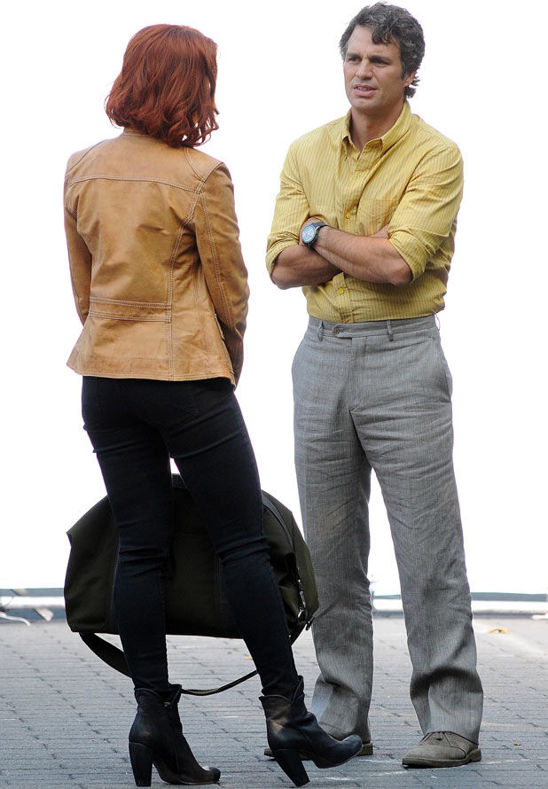 Scarlett Johansson and Mark Ruffalo