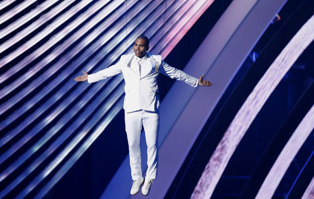 VMAS 2011: Chris Brown