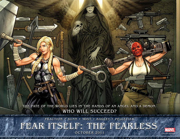 Fear Itself: The Fearless teaser