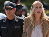 Daryl Hannah is arrested at a protest outside the White House