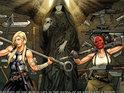 An image of Valkyrie and Sin emerges for the Fear Itself spinoff