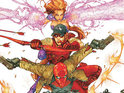 The publisher directs detractors to the age rating of Red Hood and the Outlaws.