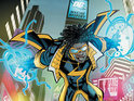 Scott McDaniel teases the next issue of DC Comics' Static Shock.