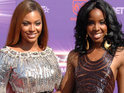 Destiny's Child star discusses bandmate Beyoncé's pregnancy at the MTV VMAs.