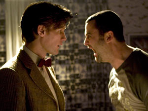 Alex and the Doctor in Doctor Who S06E09 Night Terrors