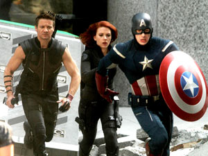 The Avengers - On Location