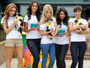 The Saturdays launch 'A Dog is Not a Toy' - a joint campaign between the Dogs Trust and Nintendo