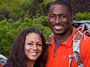 Married NFL couple Amani and Marcus Pollard