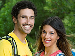 Reality stars Ethan Zohn and Jenna Morasca