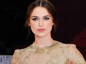 Keira Knightley arrives for the premiere of a &quot;Dangerous Method&quot; at the 68th edition of the Venice Film Festival in Venice, Italy.