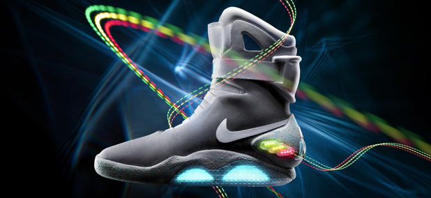 Back To The Future self-lacing shoes from Nike