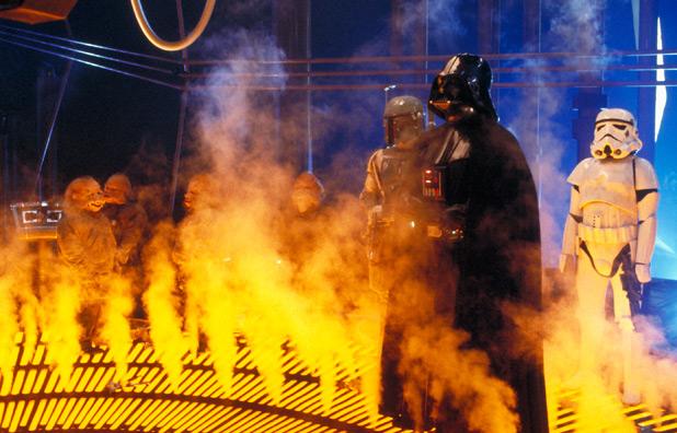 Vader prepares