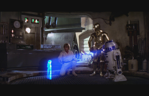 Luke Skywalker and R2-D2