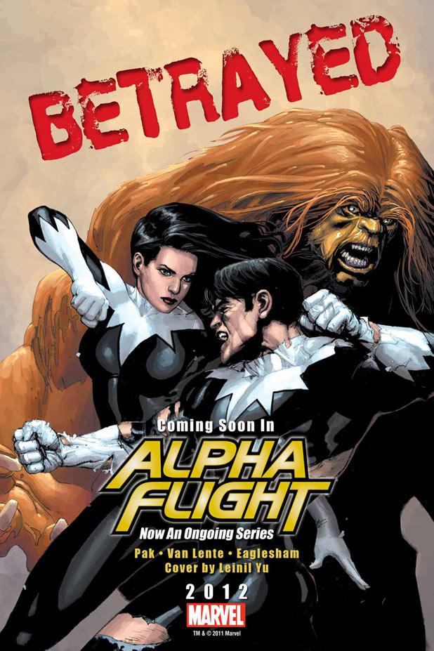 'Alpha Flight' teaser sees Aurora and Northstar