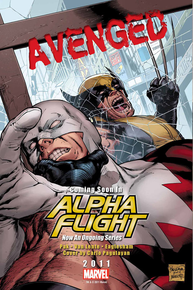 Alpha Flight Wolverine teaser