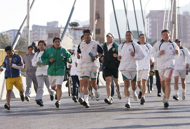 Bolivia Pedestrian Day
