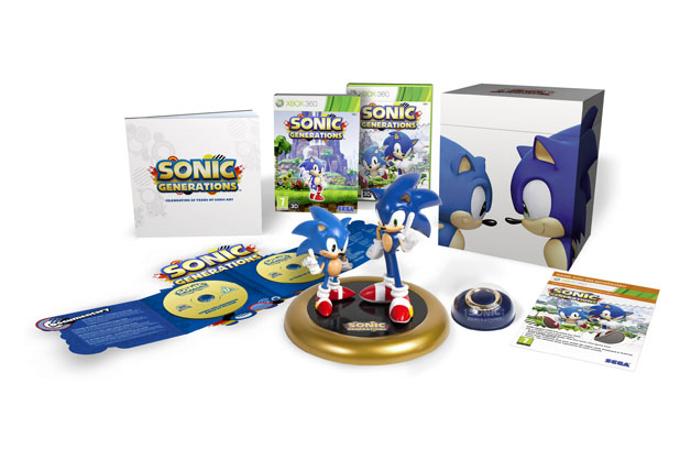 Sonic Generations collector's edition packshot