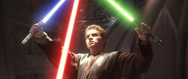 Anakin defends himself