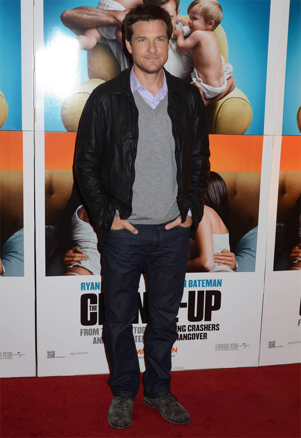 Jason Bateman attending the Irish premiere of 'The Change Up' in Dublin