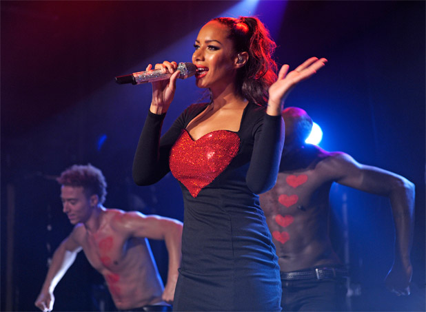 Leona Lewis performing live at London's G-A-Y, England