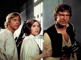 Luke, Leia and Han