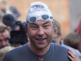 David Walliams swims the Thames for Sport Relief
