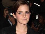 Emma Watson arriving at the 2011 GQMen of the Year Awards