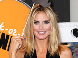 Heidi Klum supporting Unicef at New York Fashion Week