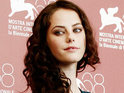 Skins's Kaya Scodelario premieres new movie at the Venice Film Festival.