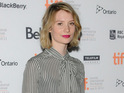 "Mia Wasikowska said she found Tim Burton's film ""very challenging""."