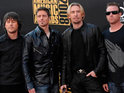 Nickelback jokingly respond to negative tweets made about them.