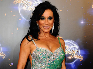 Nancy Dell'Olio arrives for the launch of Strictly Come Dancing 2011