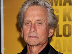 Michael Douglas attends the New York City premiere of &#39;Contagion&#39;