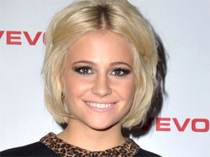 Pixie Lott attends the London Vevo launch party