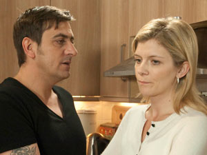 Peter tells Leanne what has happened to Carla