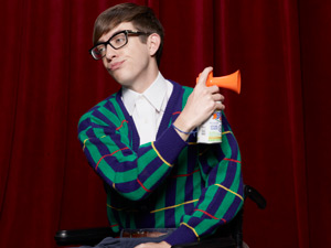 Kevin McHale returns as Artie in Season Three of Glee
