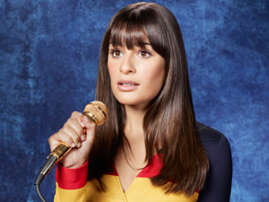Lea Michele returns as Rachel in Season Three of Glee