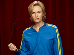 Jane Lynch returns as Sue Sylvester in Season Three of Glee