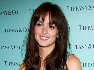 Leighton Meester appears at Tiffany & Co. as part of Vogue&#39;s Fashion Night Out in New York