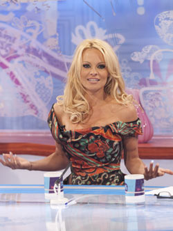 Pamela Anderson appears on 'Loose Women'