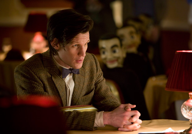 Matt Smith and ventriloquist dummies
