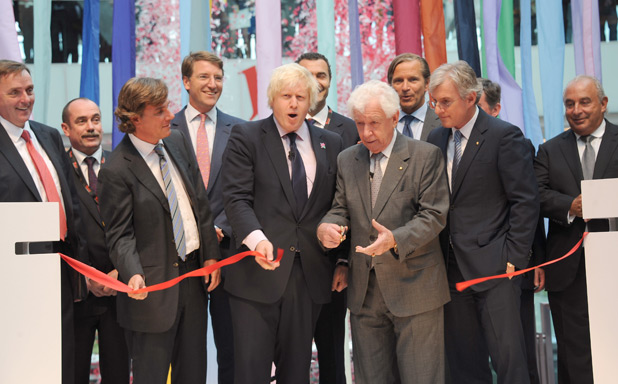 The Opening of Westfield Stratford City gallery