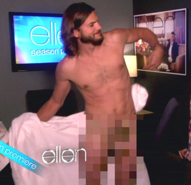 Ashton Kutcher appears on NBC's 'The Ellen DeGeneres Show'