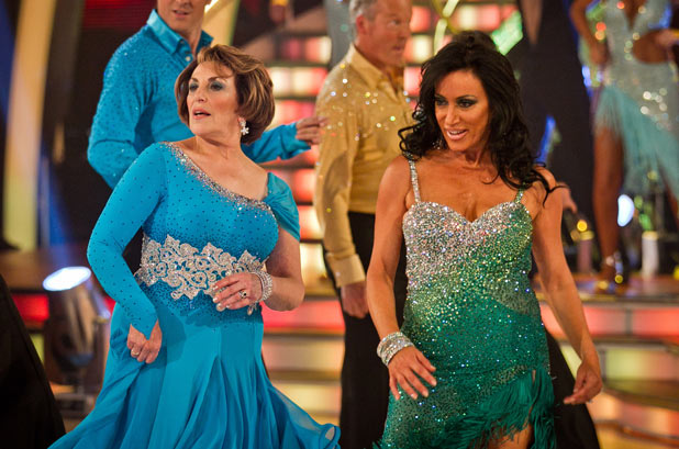 Edwina Currie and Nancy Dell'Olio on Strictly Come Dancing