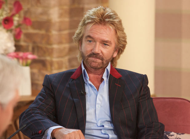 Noel Edmonds appears on 'This Morning'